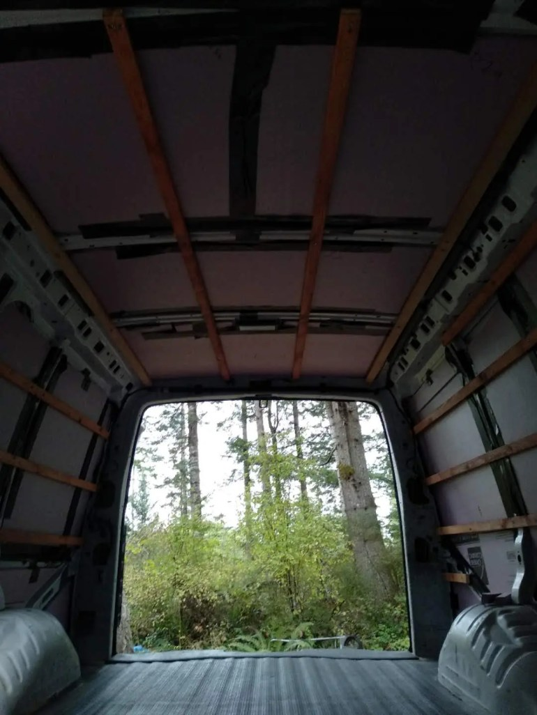 van conversion how to guide furring strips
