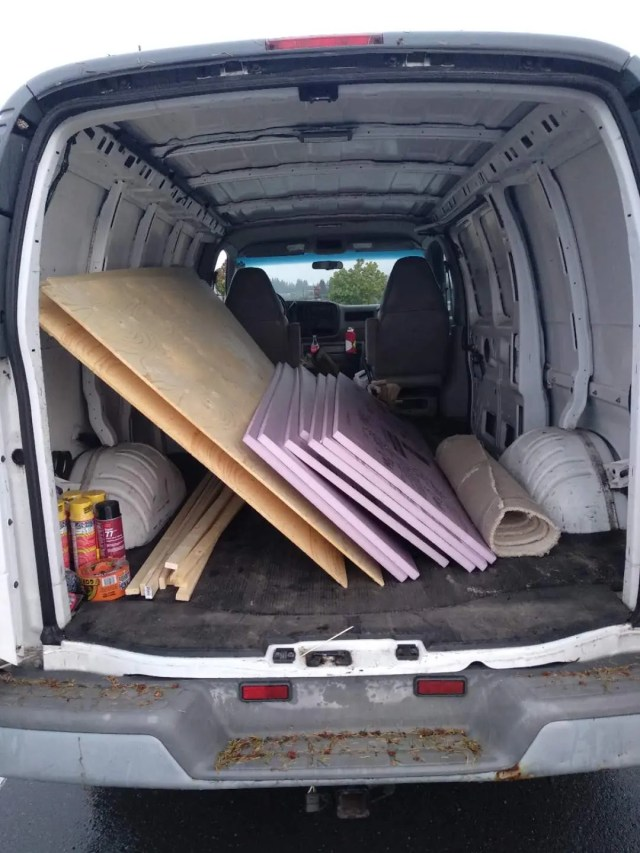 van conversion DIY guide