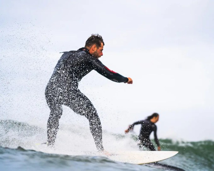surfing in Pembrokeshire