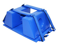 Big Blue Resuable Head Immobilizers