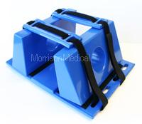 Super Blue Reusable head immobilizers