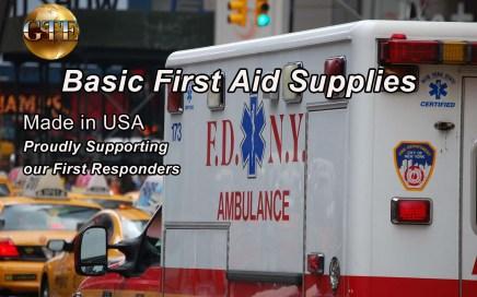 Basic First Aid Supplies - GTE