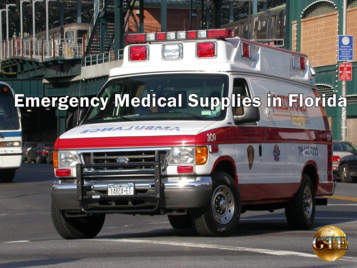 Emergency Medical Supplies in Florida