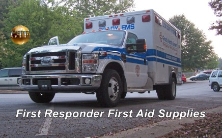 First Responder First Aid Supplies