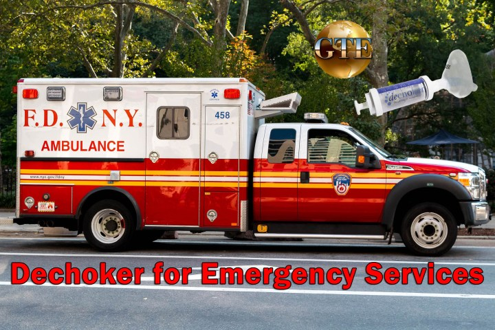 Dechoker for Emergency Services