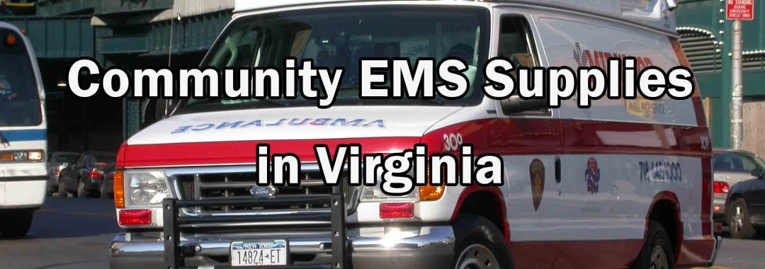 EMS Supplies - Virginia