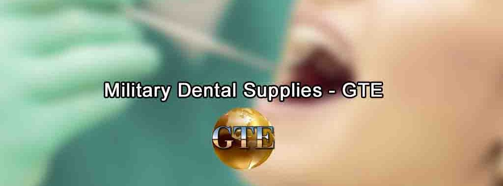 Military Dental Supplies • Global-Tec Enterprises Inc