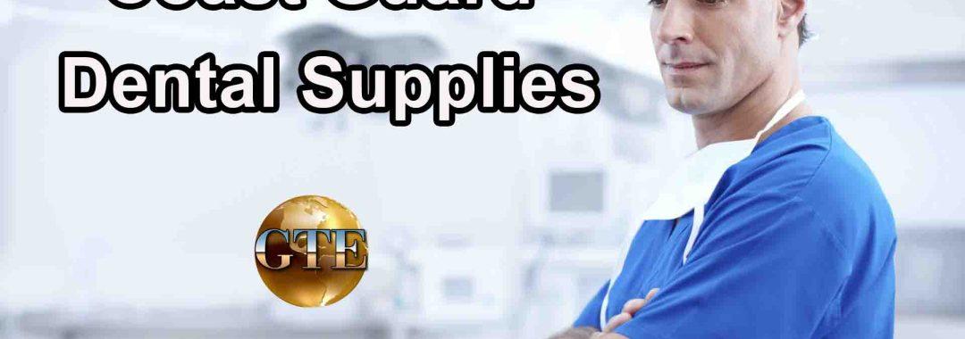 Coast Guard Dental Supplies