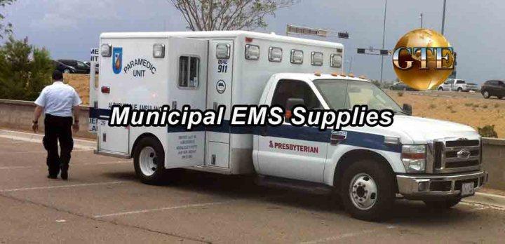 Bulk Municipal EMS Supplies