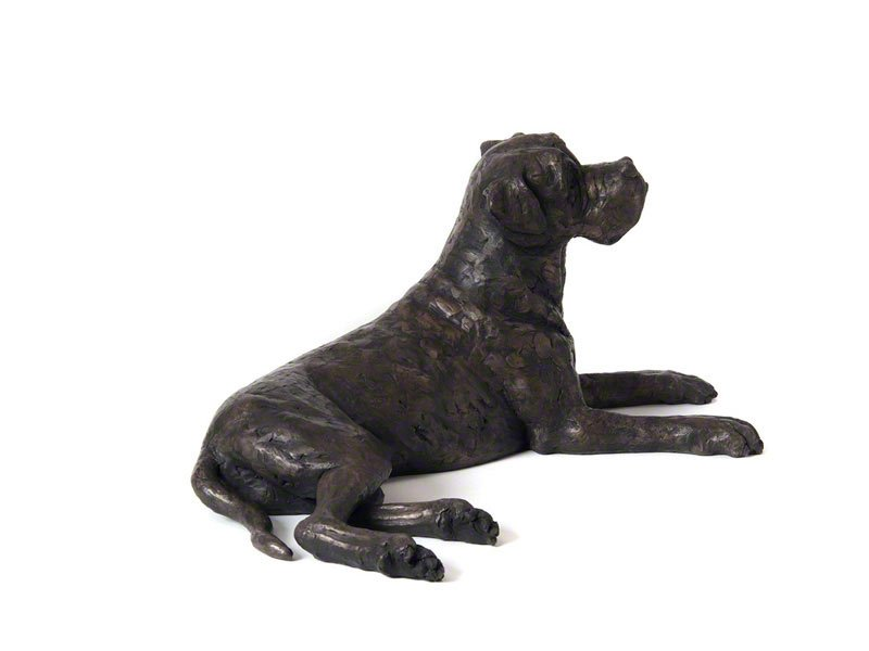 Beautiful figurine Boxer Dog urns for pet dog ashes. Can be personalised.