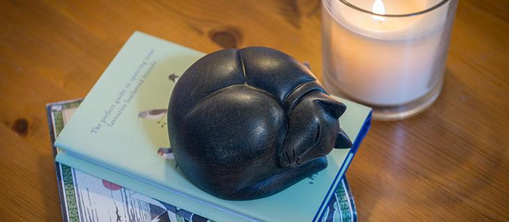 Cat Figurine Urns