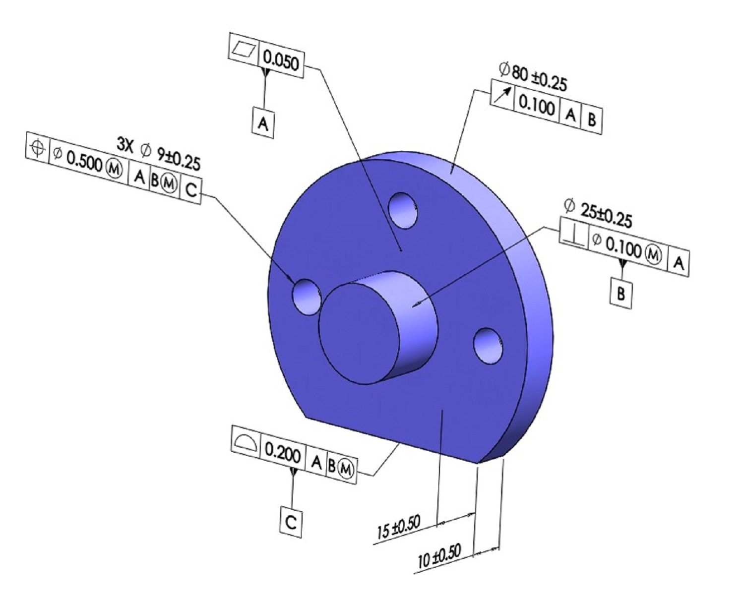 Gd Amp T 101 An Introduction To Geometric Dimensioning And