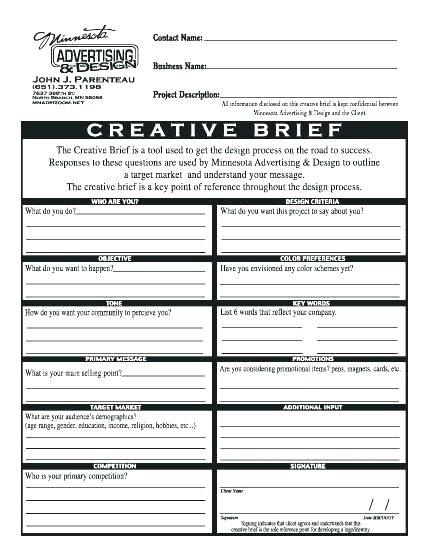 Download Marketing Campaign Brief Template Bonsai
