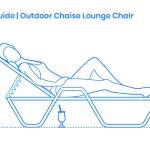 Outdoor Chaise Lounge Chair Dimensions Drawings Dimensions Com