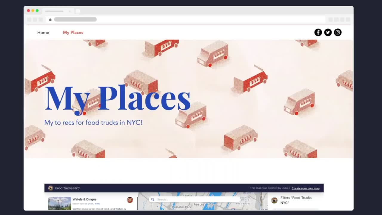 steps create a map for your community