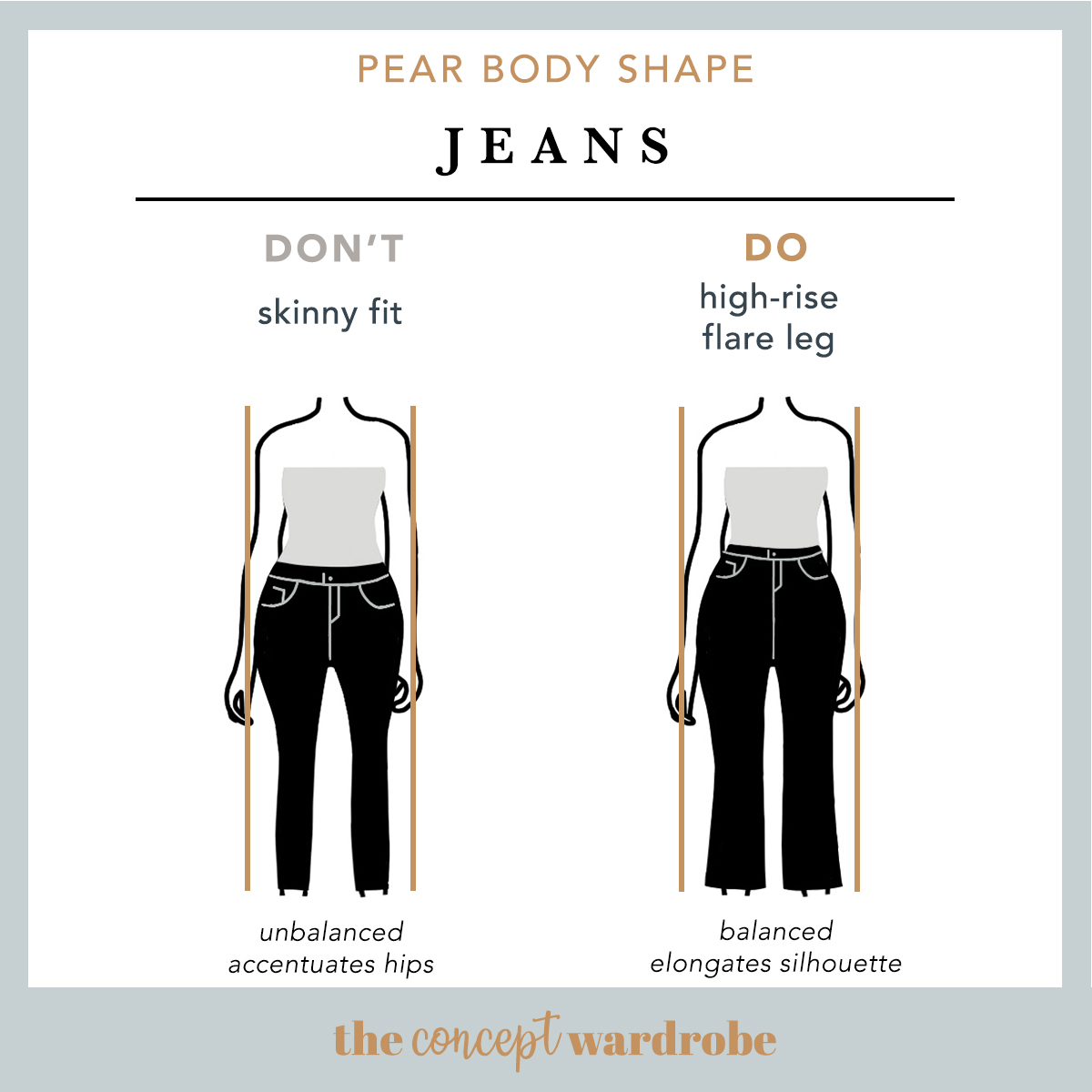 How To Dress The Pear Body Shape