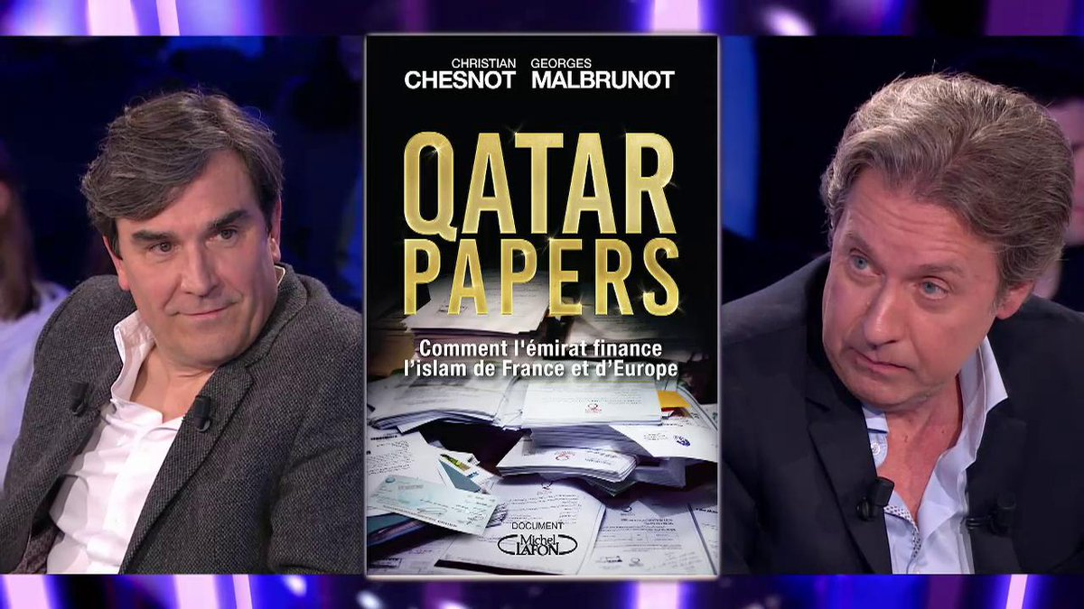 Qatar contributes to the success of Chesnot and Malbrunot's book!