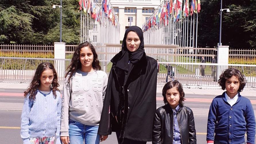 L'épouse du cousin de l'émir du Qatar, condamné à 25 ans de prison, dénonce le régime