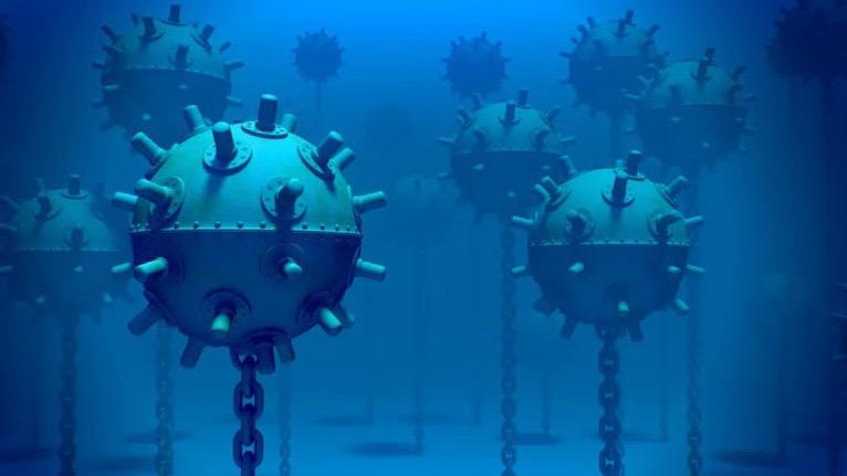 North Korea admits to having provided more than 6,000 submarine mines to Tehran