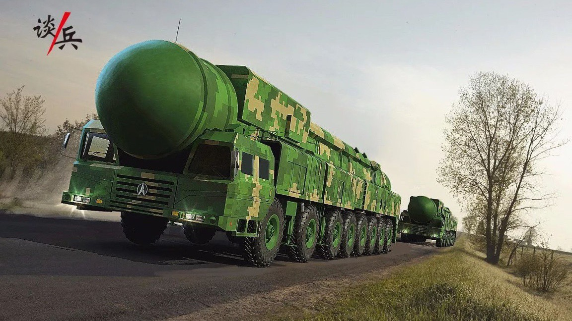 Beijing wants to impress with its Dong Feng-41 missile