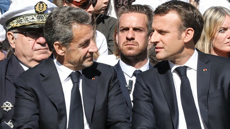 Sarkozy advises (and dissuades) Macron
