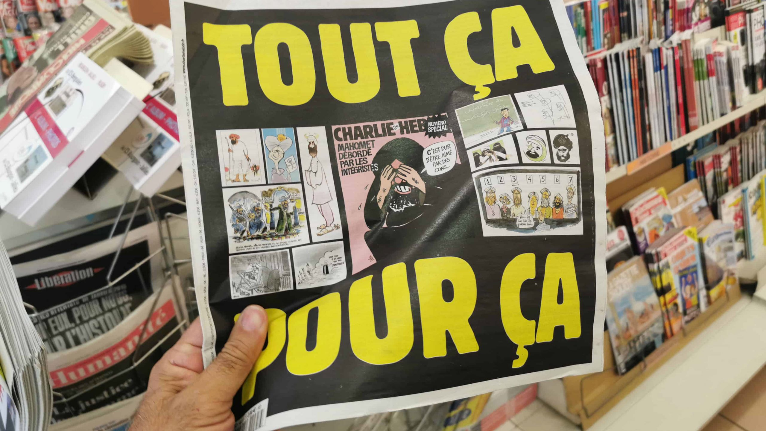 'JE SUIS CHARLIE' AND ALL THE OTHERS…