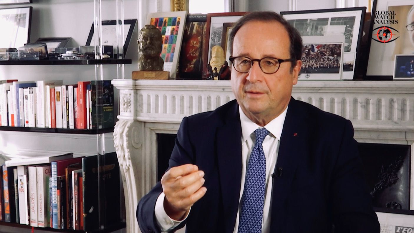 François Hollande: Radicalization and political Islamism gangren France