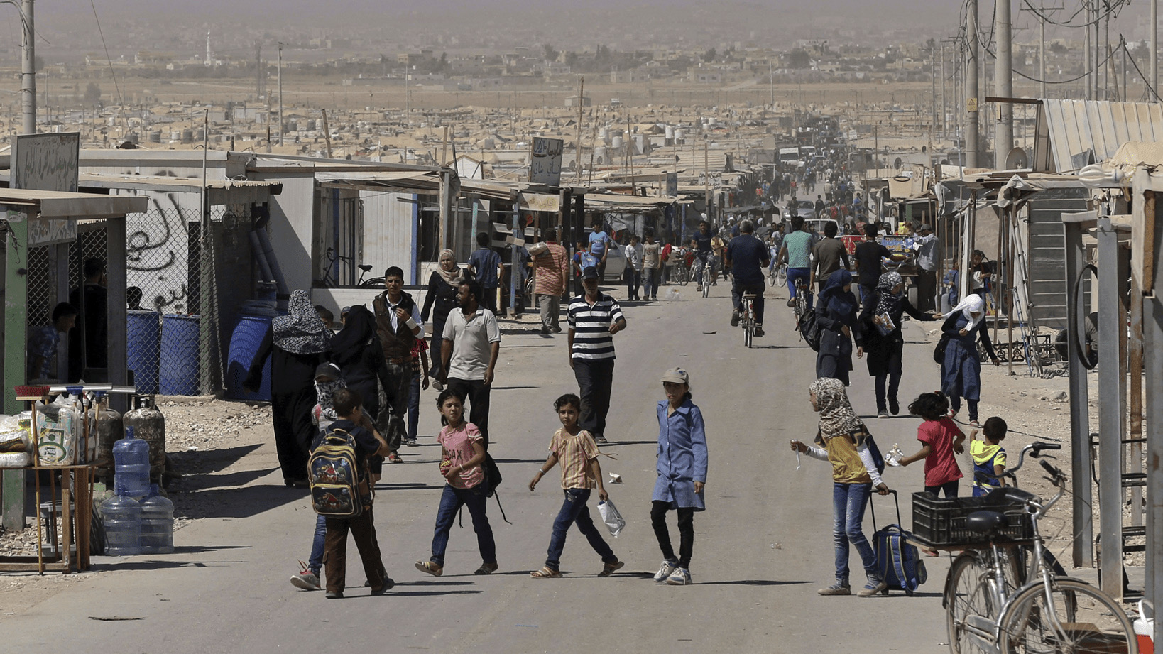 Zaatari camp, hell on earth for 80,000 refugees