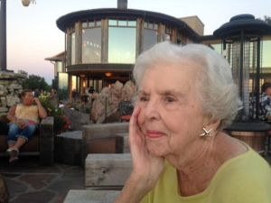 My mother-in-law at 91!