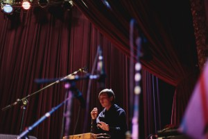 Jay Afrisando from Indonesia playing the theremin