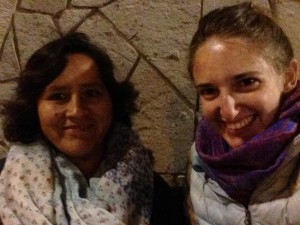 Seven years after staying in her home for three weeks with Lakeside School's Global Service Learning program, I was reunited with Adela in Ollantaytambo, Peru, when I passed through town for one night on a trip I was leading.