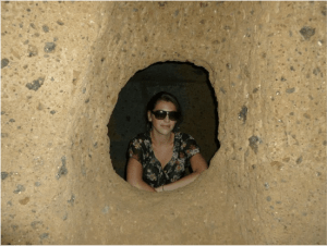 Me in Tuscany Catacomb, 2012