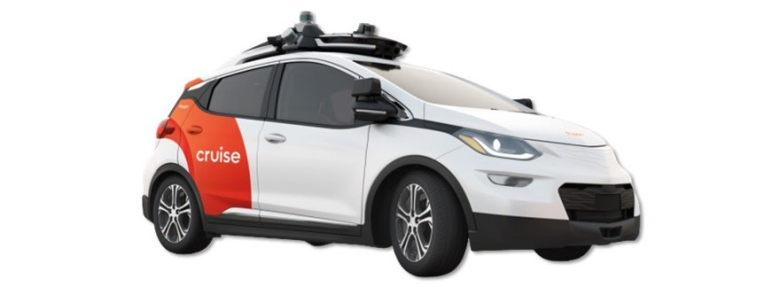 Cruise AV:Vehicle based on GM Bolt for testing Cruise AD tech