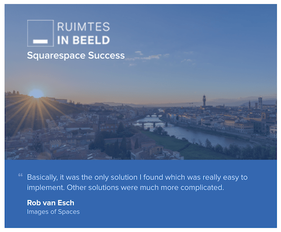 Featured Customer: Ruimtes in Beeld 1