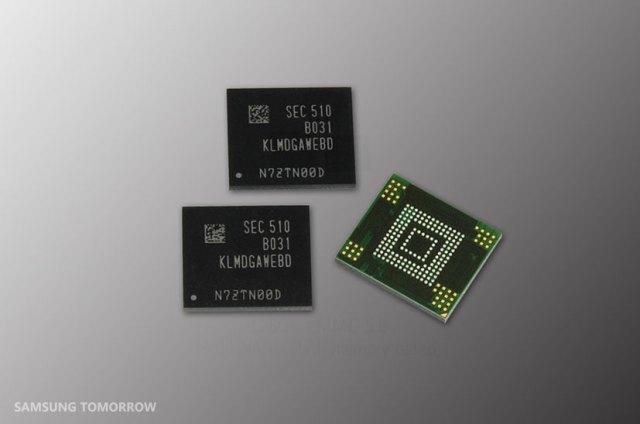 128GBeMMC Inside Title Image 2 Samsung trabalha memórias de 128GB para dispositivos de médio custo image