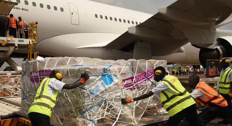 Major airlines join forceswith UNICEF to support 'monumental'COVID-19 vaccine roll-out plan