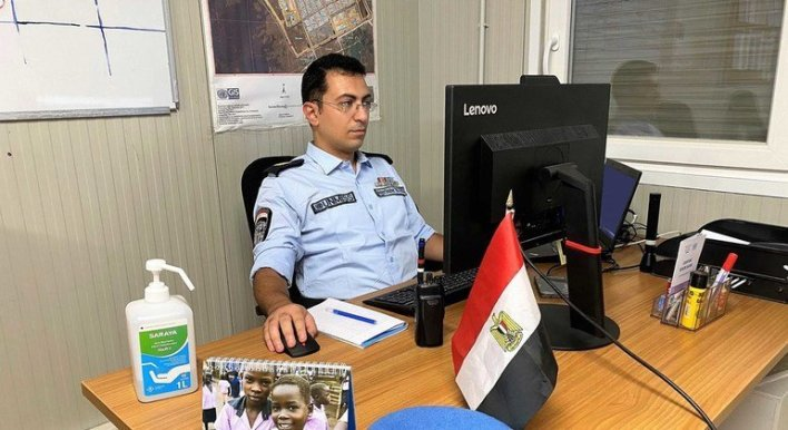 image770x420cropped - ماهر بطرس، طبيب في شرطة الأمم المتحدة بملكال ينضم إلى فريق الاستجابة لفيروس كورونا