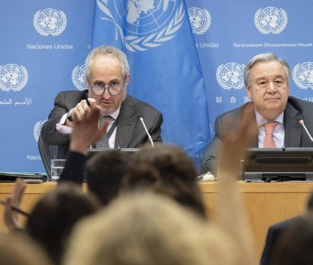 The Best Selling Brand Today Is Fear Un Chief Highlights Urgent Need To Address Global Deficit Of Trust