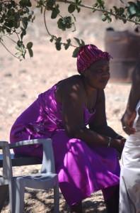 Namibian woman