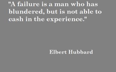 Quote: Elbert Hubbard