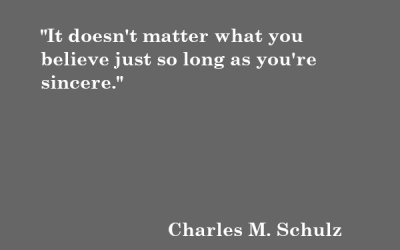 Quote: Charles M. Schulz