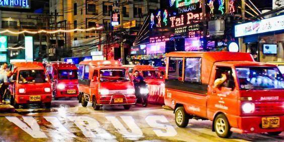Bangla Road, Patong Bay, Phuket