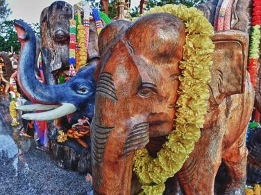 Brahma Shrine   Laem Phrom Thep