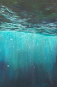 Joanna Blair - Underwater Tranquility 1250mm x 825mm Oil on canvas