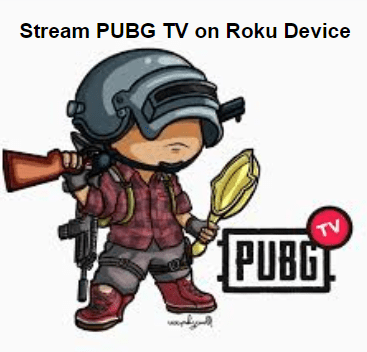 Stream PUBG TV on Roku Device