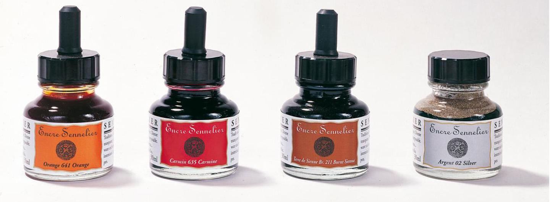 Sennelier Inks   Global Art Supplies
