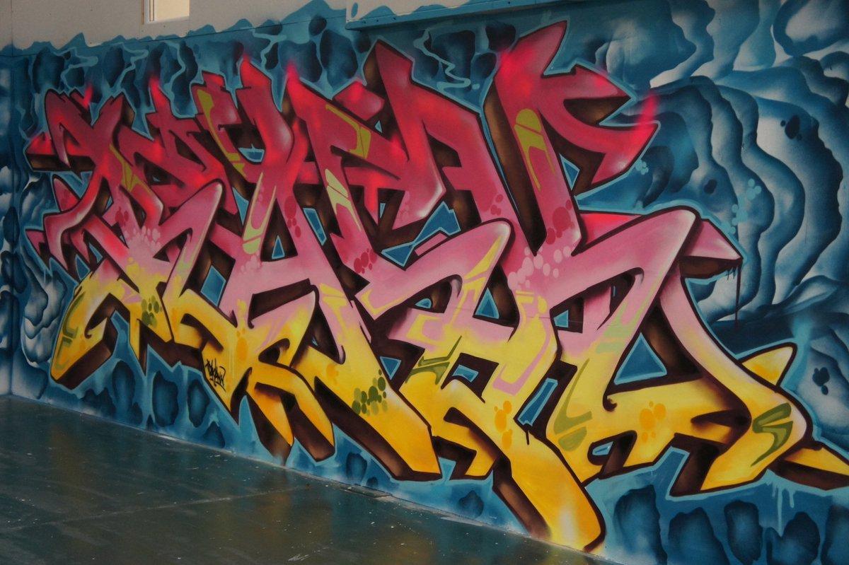 Legal graffiti walls