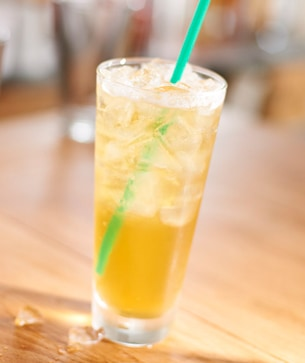 Teavana® Shaken Iced Peach Green Tea