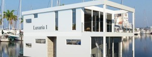 Luxuria floating home