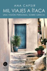 Mil Viajes a Ítaca, de Ana Capsir